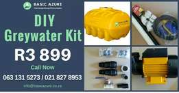 Greywater Kits DIY from R3899