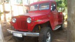 1948 willys jeep Bakkie for sale or to swop