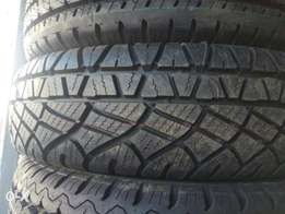 195/80/15 Michelin tyres, 13000