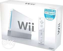 Nintendo Wii Wi We Why Wy console n 180games