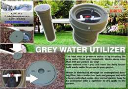 Grey water utilization