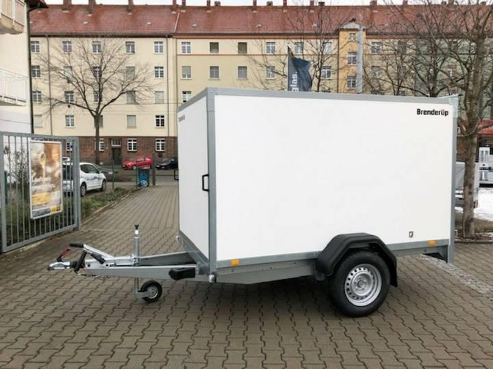 Brenderup 7260 BD 1300 Kofferanhänger mit Türen - 2019