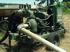 We build irrigation pumps
