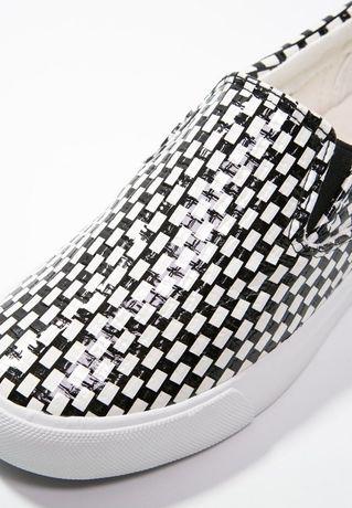 New look r. 38 wsuwane buty slippersy slip on trampki vans