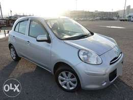 Grab This Neat Silver MARCH, 2010, 1200cc, for Only Kes 490,071