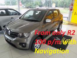 2017 Renault Kwid 1.0 Dynamique with Navigation, Brown, R134 900