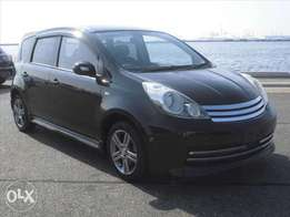 Rare Black Nissan Note [RIDER with SMART KEY & BACK CAMERA] TAKL122538