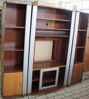 3 Piece Wall Unit Brown S023882A