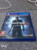Uncharted CD for PlayStation 4