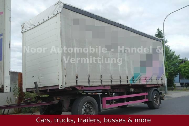 Schmitz Cargobull AWF 18 Drehdeichsel *Lafette+Brückeu002FTautliner - 2004