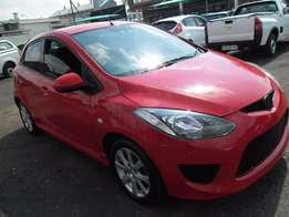 A mazda 2, with full service book, 2009 model, 4-doors 89000km, facto