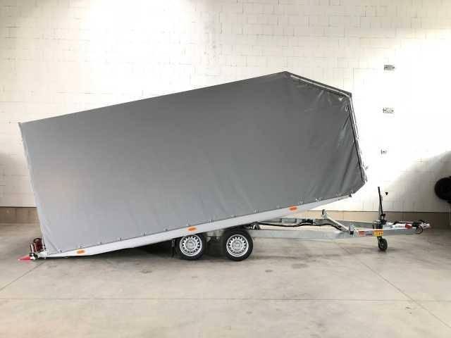 Vezeko Imola 35.47 silber mit Plane Autotransporter
