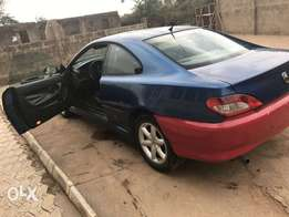 Registered Peugeot 406 coupe