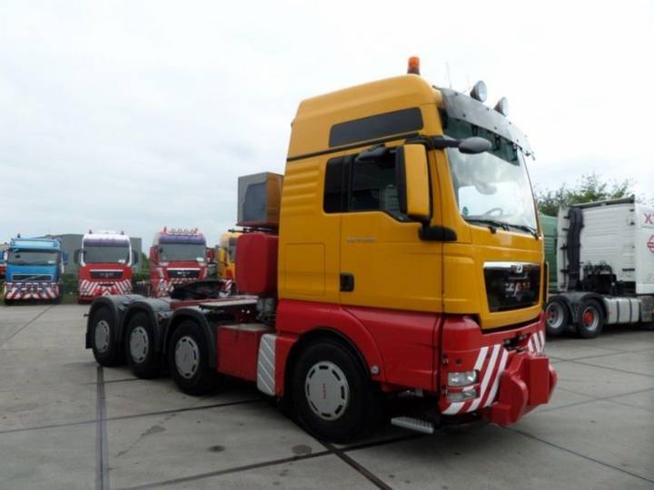 MAN TGX 41.540 8x4-4 BBS Heavy Haulage Tractor - 2012
