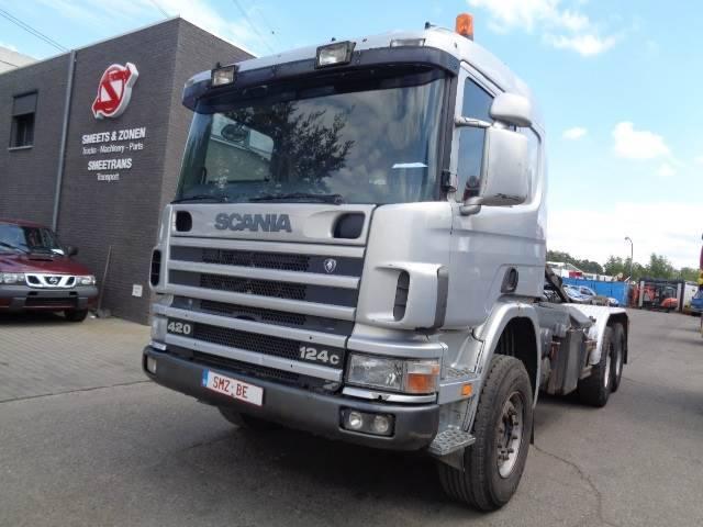 Scania 124 420 Lames Big Axle - 1999