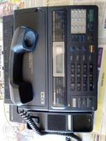 A Panasonic telephone answering system with facsimile