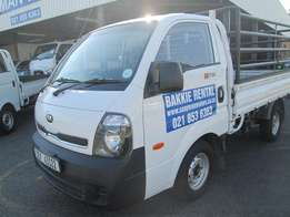 Kia K2700 with rails for hire