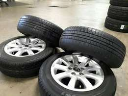 Great deal on Mags & Tyres (VW & Dunlop)