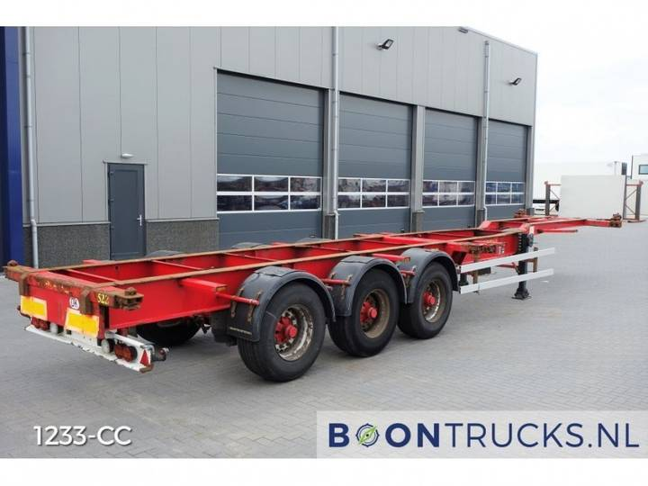 HFR 20-40ft HC Containerchassis *4800 Kg * - 2004