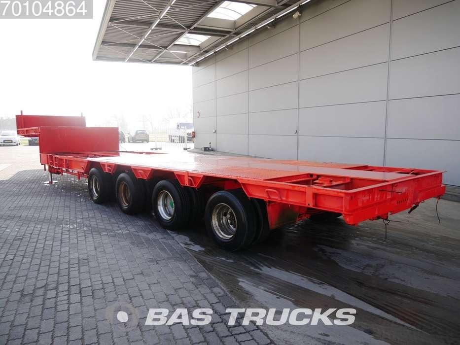 Goldhofer STPA 4-44-62 Ausziebar bis 19m90 4x Lenkachse - 1975