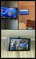 view three different channels in one house