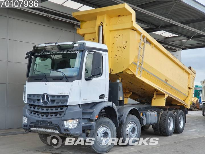 Mercedes-Benz Arocs 4142 K 8X4 Manual 25m3 Big-Axle SteelSuspension Euro 6 - 2016