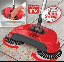 Roto Sweep! The Rotating Hard Floor Sweeper