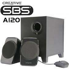 Creative A 120 2.1 speakers Nairobi CBD - image 1