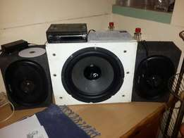 Radio met speakers