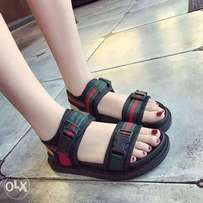 Brand new female Gucci sandals available at all sizes