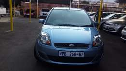 2008 Blue Ford Fiest 1,6 Auto for sale