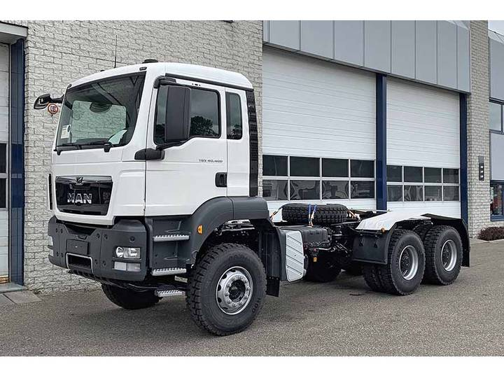 MAN TGS 40.400 BB-WW 6X4 CHASSIS CABIN (5 units)