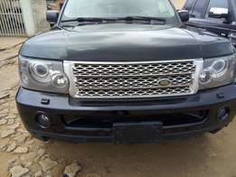 Registered Range Rover sport