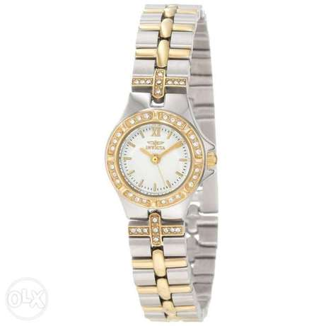 Invicta Women's 0133 Wildflower Collection 18k Gold-Plated and Stainle
