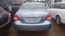 Toyota Belta Sky blue available for sale.