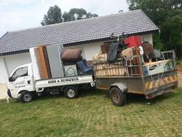 Furniture , rubble and refuse removals from R150!