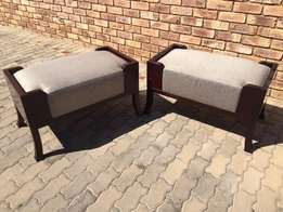 Ottomans (Syon House) – Really beautiful pieces – Price: R 1100 each