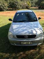 Opel corsa. Good running car in good condition. In Nelspruit.