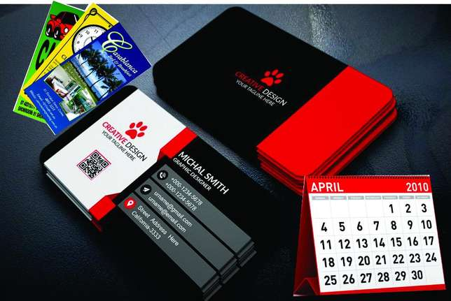 Calendars,Business Cards,Flyers,Receipts Books,Posters,Gift Bags Nairobi CBD - image 1