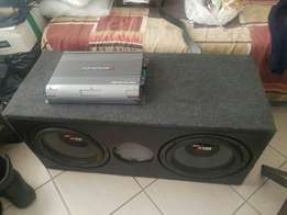 Sub & amp competition sound