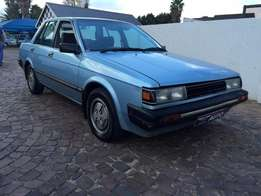 1987 Nissan Langley 1500 sgl,only 117000 kms,Excellent condition