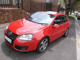 2007 Golf 5 Gti red color 116000km auto R145000