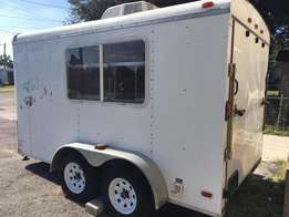 Food Truck/Food Trailer With Roll Out Cart