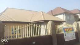 Alone in a compound 3bedroom to let in Lugbe CBN