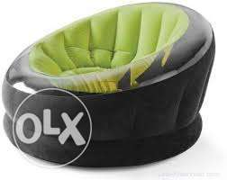 INTEX Empire Inflatable Chair Green/Black