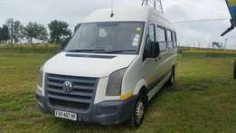 2010 Vw Crafter 50 22 Seater