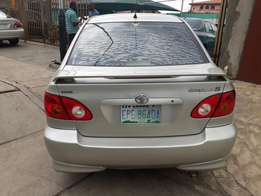 Extremely Clean Toyota Corolla Sport 2003model