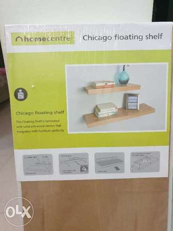 Brand new Chicago Floating Shelves