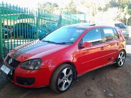 2007 model vw golf 5 GTI Comfortline for sale