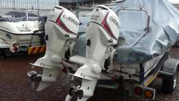 Price reduced - new generation 90HP Evinrude engines